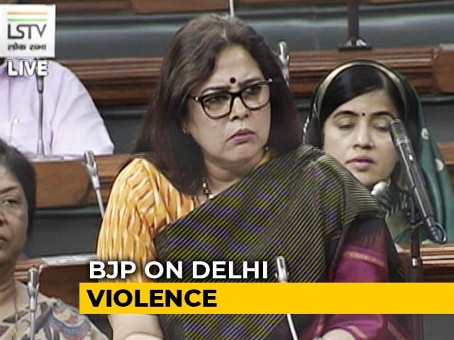 "Video : ""Should Home Minister Sit In Police Station?"" BJP Slams Opposition Over Delhi Clashes"