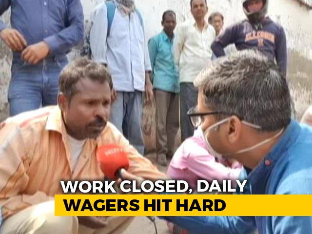 Video : Daily Wagers Struggle To Find Work As Country Goes In Lockdown