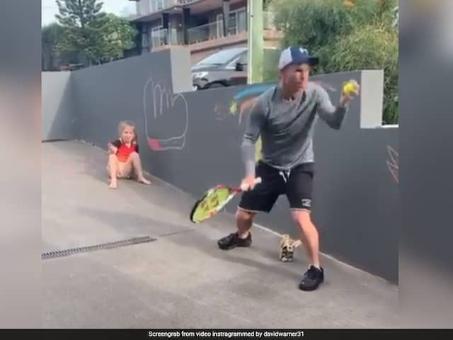 Watch: David Warner Finds A Unique Way To Improve His Catching Skills
