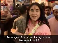 सारा अली खान ने वाराणसी के विश्वनाथ मंदिर से की रिपोर्टिंग, Video में दिखाया ये नजारा