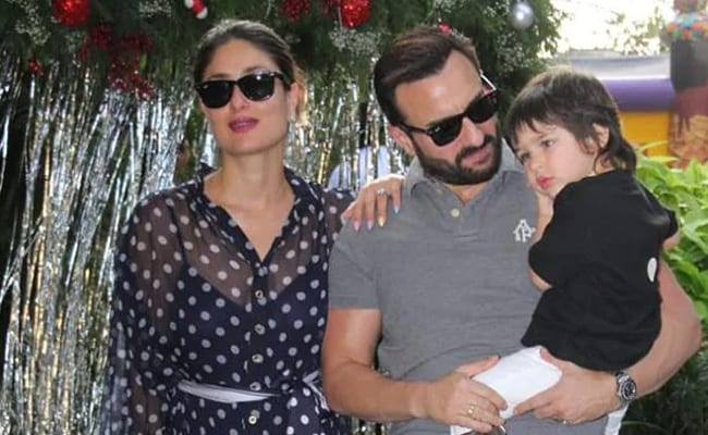 """Saif Ali Khan Or Taimur? Guess Who Kareena Kapoor's """"In-House Picasso"""" Is"""
