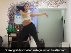 अपनी दादी के कपड़ों में धमाकेदार डांस करते हुए नजर आई यह एक्ट्रेस, देखें Viral Video