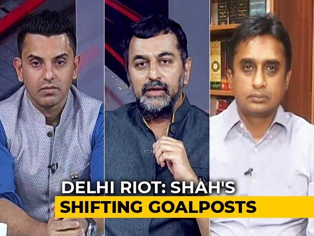 Video : Amit Shah On Delhi Violence: A Reality Check