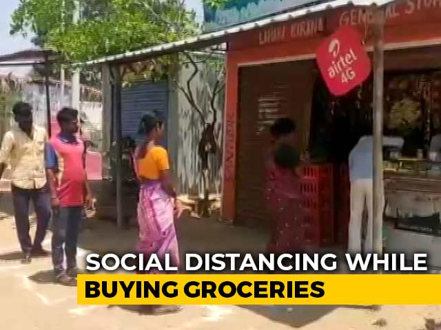 Video : Fighting Coronavirus With Squares, Circles: Social Distancing At Stores