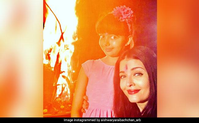 Holi 2020: Inside Aishwarya Rai Bachchan And Daughter Aaradhya's Celebrations