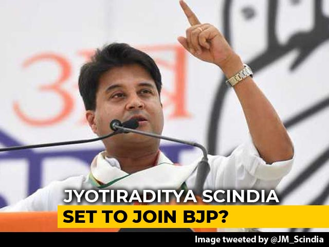 Video : Jyotiraditya Scindia Quits Congress, Writes To Sonia Gandhi