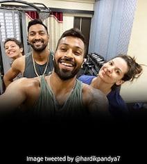 'Fun Session With My Babies': Hardik Pandya Posts Picture With Family