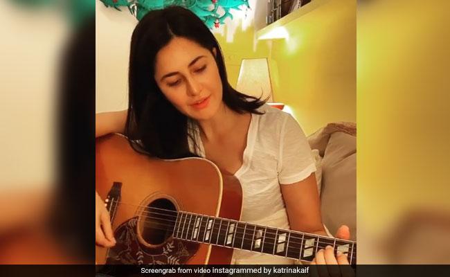 Katrina Kaif learns to play the guitar because she can't let Ankur Tewari down
