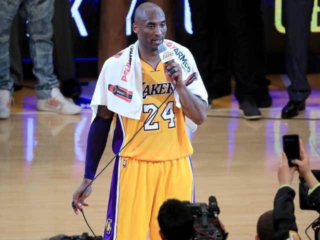 Kobe Bryants Towel Fetches $33,000 At Auction: Report