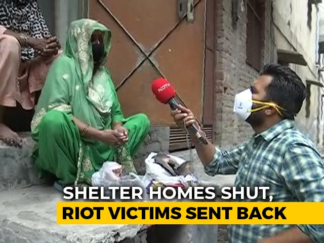 "Video : ""Nothing Is Left"": Relief Camp For Delhi Violence Victims Shut Over Virus Fears"