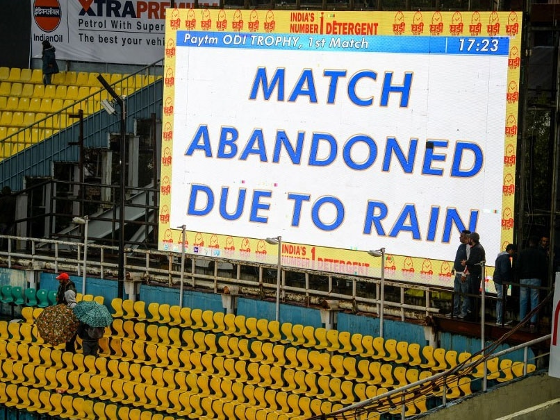 1st ODI: India-South Africa Series Opener Called Off Due To Rain In Dharamsala