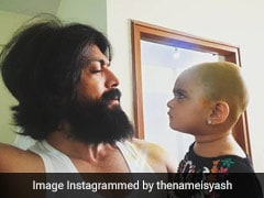 KGF Star Yash's Daughter Ayra Feeding Him Is The Cutest Video On The Internet