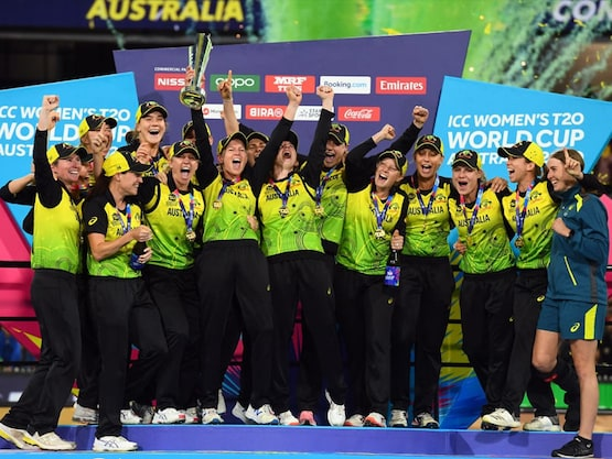 Women T20 World Cup: Australia Clinch Record-Extending 5th Title With Win Over India In Final