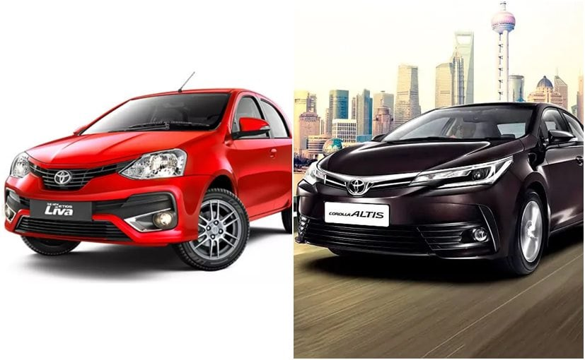 Toyota Etios Series & Corolla Altis To Be Discontinued From April 2020