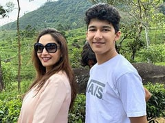 """Madhuri Dixit's Touching Birthday Wish For Son Arin: """"When I Scold You, It's Only Because..."""""""