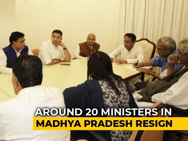 """Video : Kamal Nath Fights Back With Cabinet Rejig, Says """"Won't Let Them Succeed"""""""