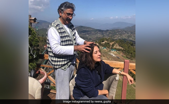 Neena Gupta's Caption For This Pic With Husband Vivek Mehra Is Making The Internet ROFL