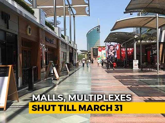 Video: Gurgaon Closes All Malls, Cinemas Till March 31 Over Coronavirus Outbreak