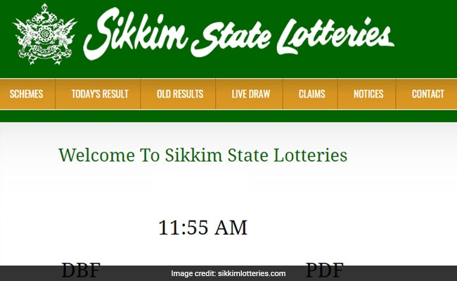 Sikkim Lottery Dear Morning Result Released, Two More Draw Today