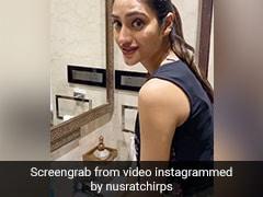 Nusrat Jahan ने हाथ धोते वक्त बहाया इतना पानी, लोग करने लगे Troll, बोले- 'नल तो बंद करो मैडम...' देखें Video