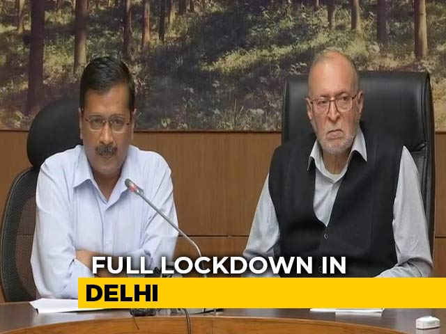 Video : Delhi Locked Down Over COVID-19; Transport, Shops Shut, Borders Sealed