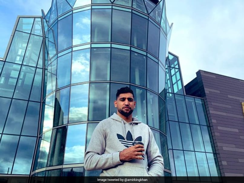 Boxer Amir Khan Offers 4-Storey Building To Help UK Fight Coronavirus