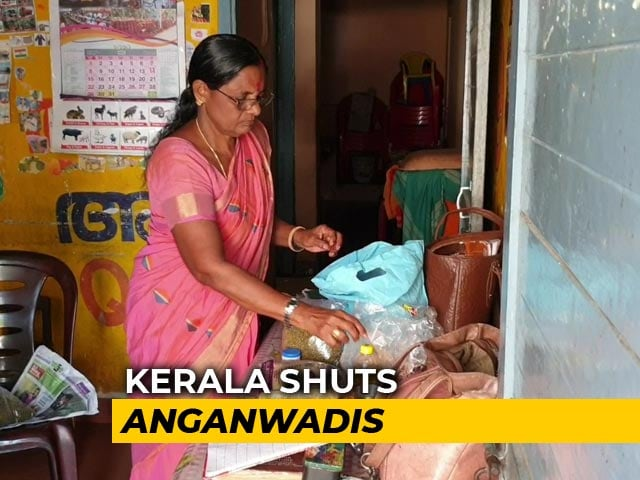 Video : Coronavirus Outbreak: Mid-Day Meals Come Home As Kerala Shuts <i>Anganwadis</i> Over Virus