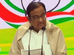 """No Evidence"": P Chidambaram Trashes Cash Distribution Allegations In 2009 Elections"