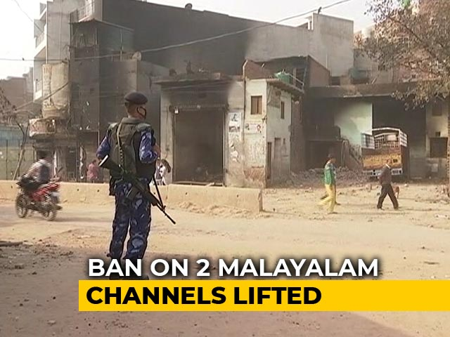 Video : 2 News Channels, Banned For Reporting On Delhi Violence, Back On Air