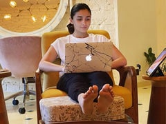"Inside Alia Bhatt And Shaheen Bhatt's ""Writer's Room"""