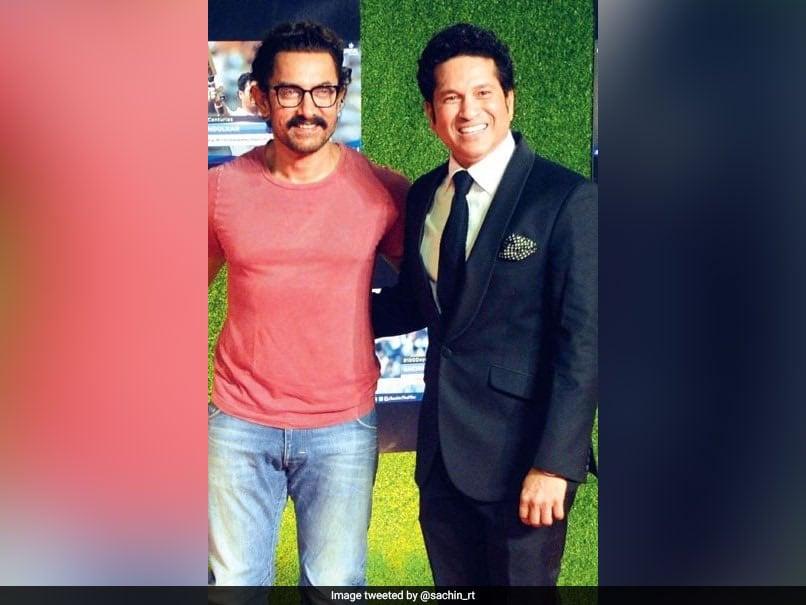 Sachin Tendulkars Laal Singh Chaddha Birthday Wish For Aamir Khan