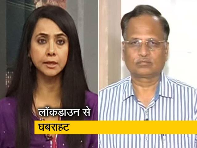 Videos : दिल्ली में किसी इंसान को भूखा नहीं सोने देंगे: सत्येंद्र जैन