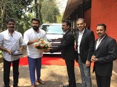 Actor Mohanlal Brings Home Toyota Vellfire Luxury MPV