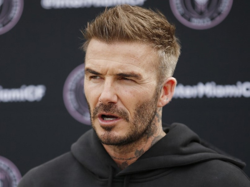 David Beckham Visits Empty Stadium As MLS Clubs Home Debut Delayed