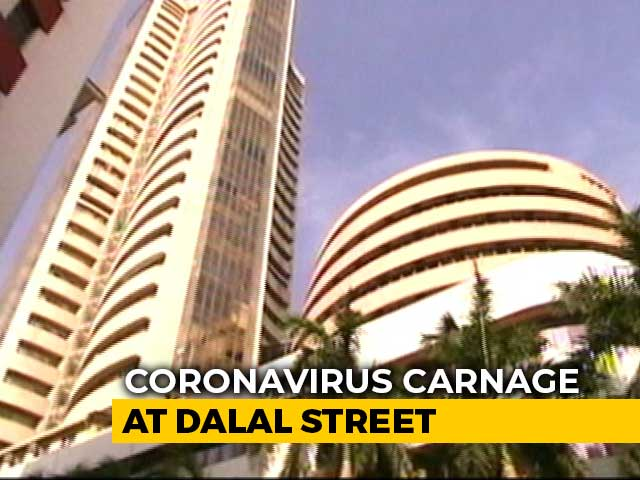 Video: Sensex, Nifty Recover Most Of Day's Losses Amid Volatility, Virus Fear