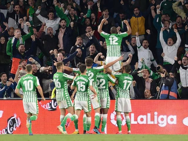 La Liga: Real Madrid Lose To Real Betis As Barcelona Go 2 Points Clear On Top