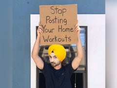 """Stop Posting Home Workouts"": We're With Diljit Dosanjh On This One"