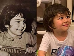 """Same To Same"": The Internet Can't Spot The Difference Between Saif Ali Khan And Son Taimur In This Pic"