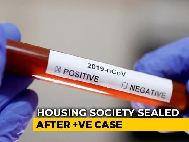 Video : Noida Housing Society Shut For Two Days Over COVID-19 Positive Resident