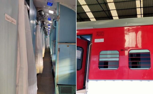 कोरोनावायरस को लेकर रेलवे की तैयारी, मरीजों को अलग रखने के लिए ट्रेन की बोगियों में बनाया आइसोलेशन सेंटर