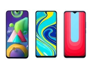 Redmi Note 9 Pro, Samsung Galaxy M21 और Vivo U20: बड़ी बैटरी वाले 'बजट' स्मार्टफोन