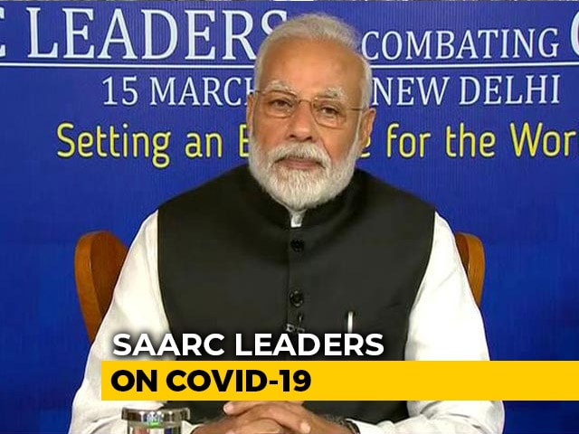 Video: 'Prepare But Don't Panic': PM Addresses SAARC Leaders On Coronavirus