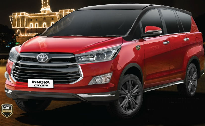 Toyota Innova Crysta Leadership Edition Launched In India; Priced At Rs. 21.21 Lakh