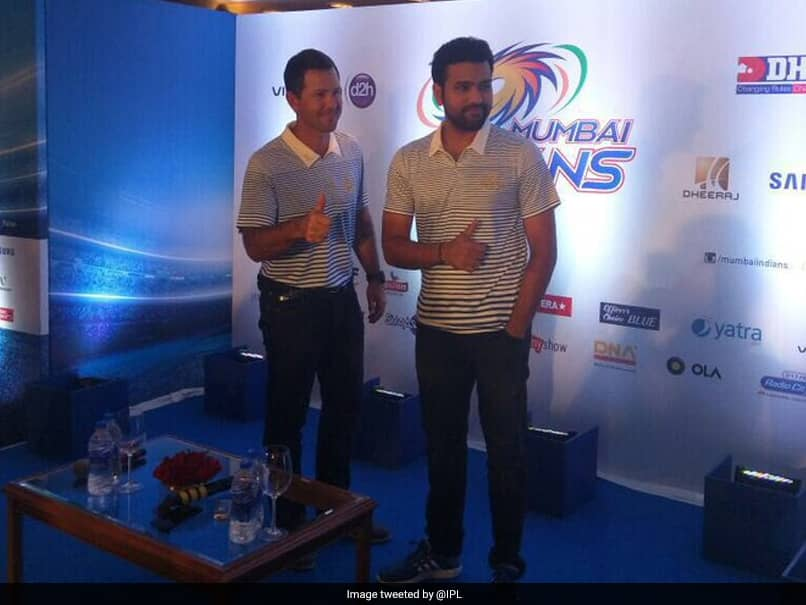 """Ricky Ponting Was """"A Different Ballgame Altogether"""": Rohit Sharma On His Favourite Coach"""