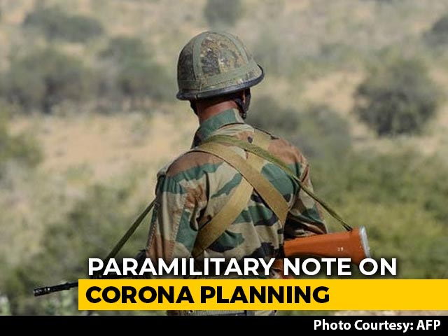 """Video : """"Enter Battle Mode"""": Paramilitary Forces Told After Virus Infects Soldier"""