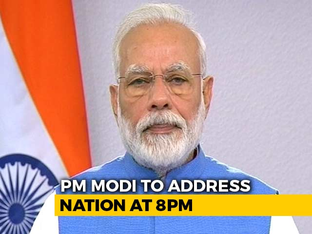 Video : PM Modi's Second Address To Nation On Coronavirus At 8 pm
