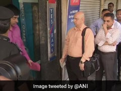 Customers Rush To ATMs In Mumbai After RBI Caps Yes Bank Withdrawal Limit