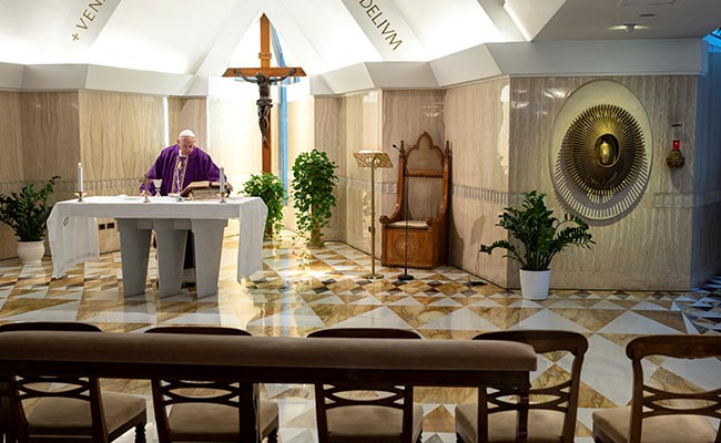 Vatican Cancels Public Participation At Easter Events Amid Coronavirus Outbreak