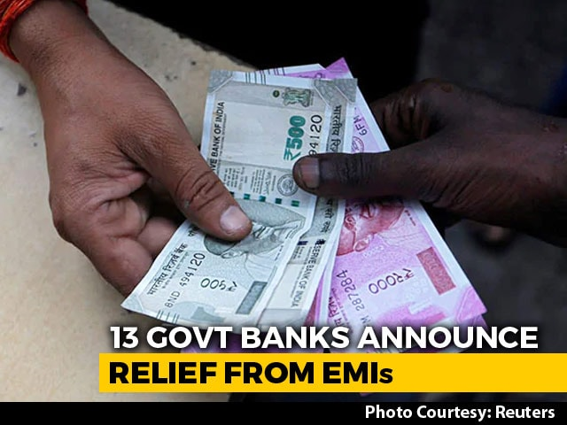 Video : State-Run Banks Allow Loan Borrowers To Delay EMIs By 3 Months Amid Coronavirus Lockout