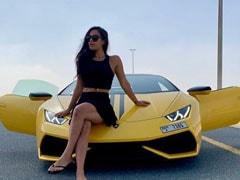 कृष्णा श्रॉफ ने तेज रफ्तार में दौड़ाई Lamborghini, वायरल हो रहा है जबरदस्त Video